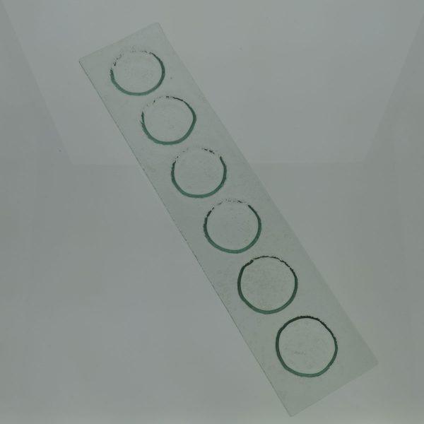 bandeja vidrio