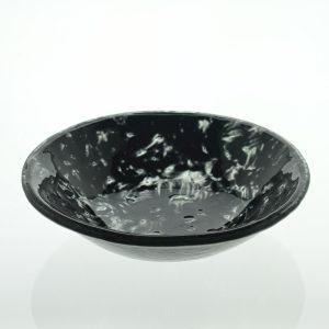 plato hondo vidrio