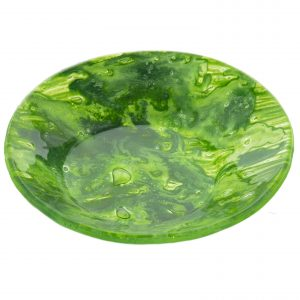 plato vidrio