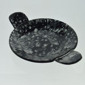plato paella vidrio