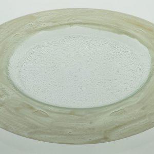 plato presentación vidrio